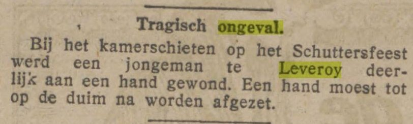 de tijd30 06 1925