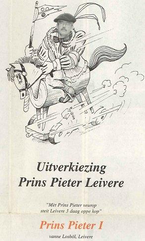 1998 - Prins Pieter I