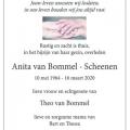 Anita Bommel van – Scheenen