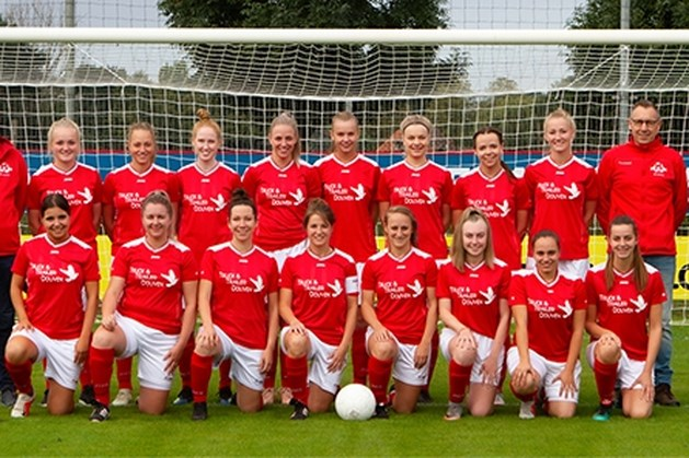 Het vrouwenteam van SV Leveroy: vaak het paradepaardje.